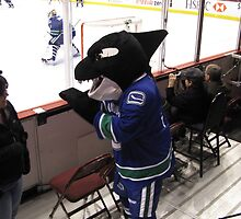 Fin the Canuck Mascot by HapaCanuck