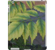 Summer Garden Leaves iPad Case/Skin
