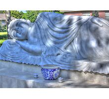 Sleeping Buddha HDR Photographic Print