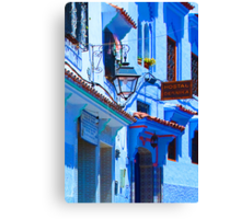 Blue City VI Canvas Print