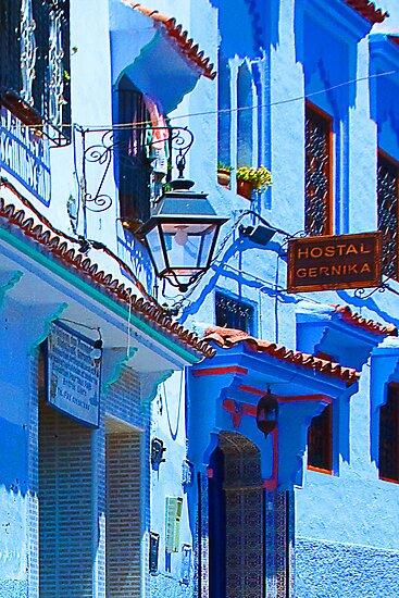 Blue City VI by Damienne Bingham