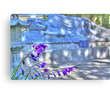 Sleeping Buddha HDR 2 Canvas Print