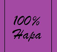 100% Hapa in purple by HapaCanuck