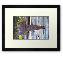 """Gated Community"" Framed Print"