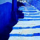 The Blue City VII by Damienne Bingham