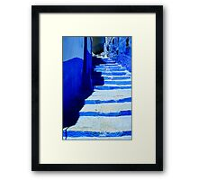 The Blue City VII Framed Print