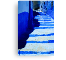 The Blue City VII Canvas Print