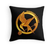 #HungerGainz Throw Pillow