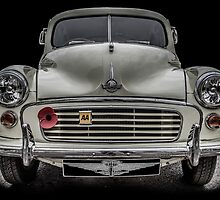 Morris Minor Traveller by Dave Hudspeth