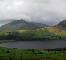 Panorama; Snowdon Ranger Path by Keith Jones