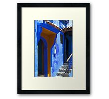 The Blue City VIII Framed Print