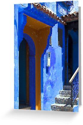 The Blue City VIII by Damienne Bingham