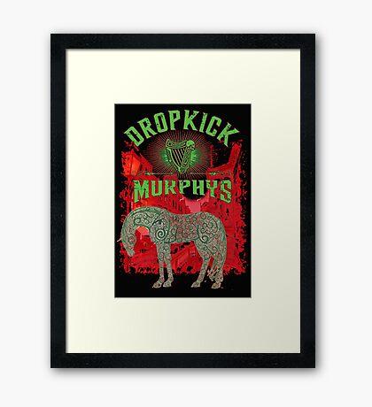 Dropkick red Framed Print