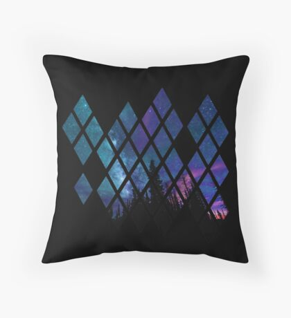 Diamond Sky Throw Pillow