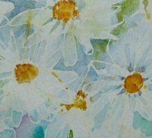 Daisies Pink blue TEE/STICKER/BABY GROW Sticker