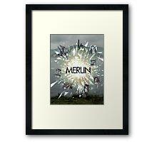 Merlin Primeval crossover annomally Framed Print