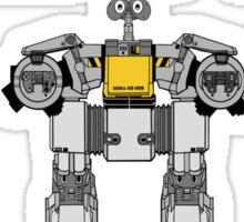 Wall-ED-209 Sticker