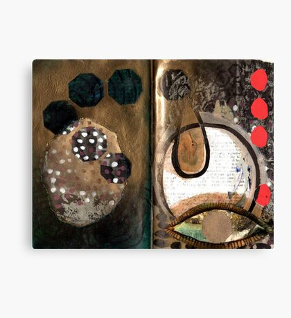 Altered Book 2 Canvas Print