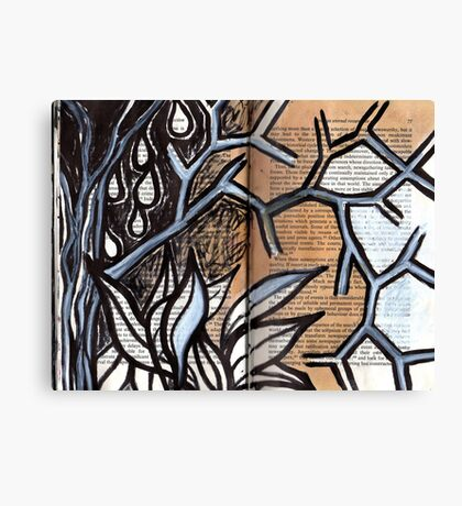 Altered Book 5 Canvas Print