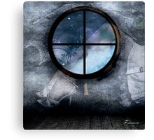THE SAILOR'S DREAM OF DRY LAND Canvas Print