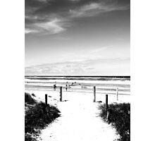 darken surf Photographic Print