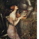 Lamia by John William Waterhouse by Aconissa