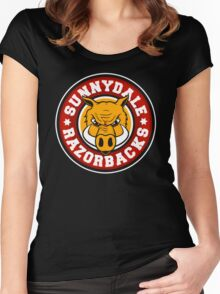 Sunnydale Razorbacks Women's Fitted Scoop T-Shirt