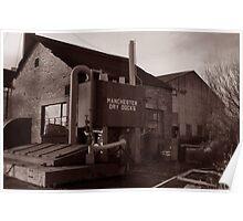 Manchester Dry Docks Poster