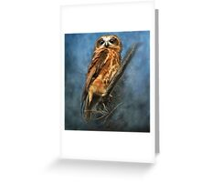 """Eyes Wide Open"" Greeting Card"