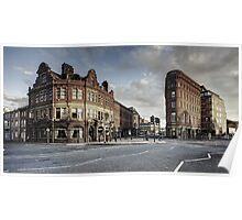 Leeds Bridge Building and Adelphi Poster