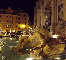 Trevi Fountain Rome by graceloves