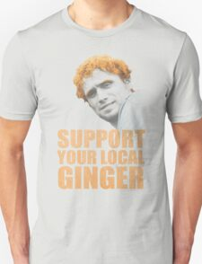 Support Your Local Ginger T-Shirt