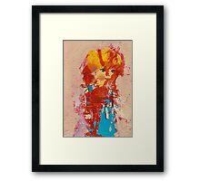 Pretty doll Framed Print