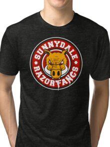 Sunnydale Razorfangs Tri-blend T-Shirt