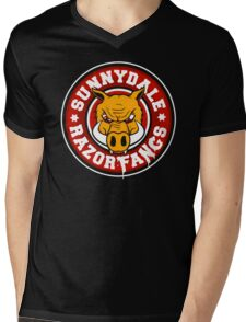 Sunnydale Razorfangs Mens V-Neck T-Shirt