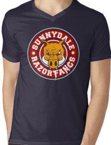 Sunnydale Razorfangs Mens V-Neck T-Shirt