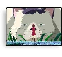 The Secret World of Arrietty oil painting style Canvas Print