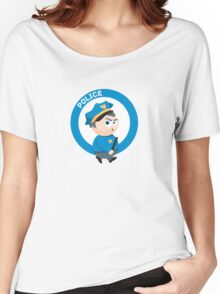 Cute Policeman Women's Relaxed Fit T-Shirt