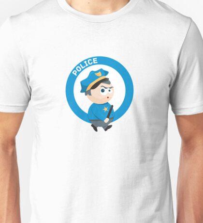 Cute Policeman Unisex T-Shirt