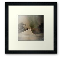 Breakfast with Shakespeare Framed Print