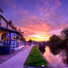 The Boat Inn Sunrise by Yhun Suarez