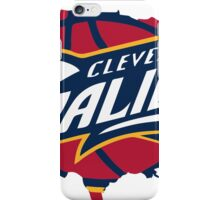 cleveland cavaliers logo iPhone Case/Skin