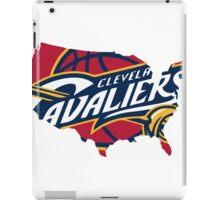 cleveland cavaliers logo iPad Case/Skin