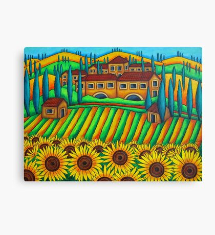 Colours of Tuscany Canvas Print