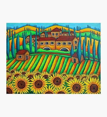 Colours of Tuscany Photographic Print