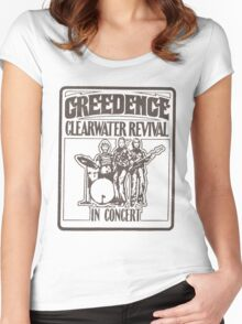 CLEARWATER Women's Fitted Scoop T-Shirt