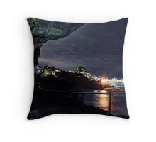 South Bondi Rocks Throw Pillow