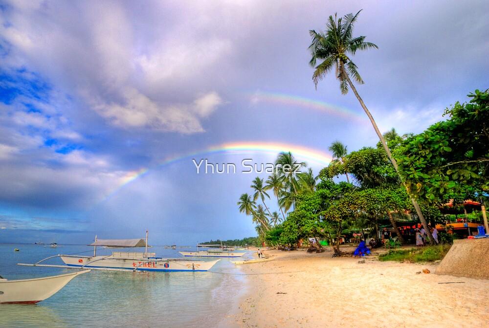 Panglao Island Double Rainbow by Yhun Suarez