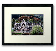 Autumn At Tintern Abbey  Framed Print