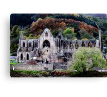 Autumn At Tintern Abbey  Canvas Print